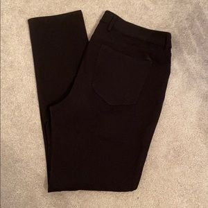 Eddie Bauer Size 14 black jeggings